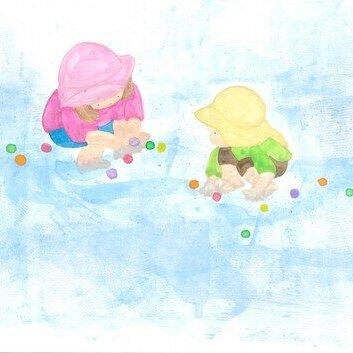 第32回子どもたちは水が大好き なぜかしら?井上 さく子