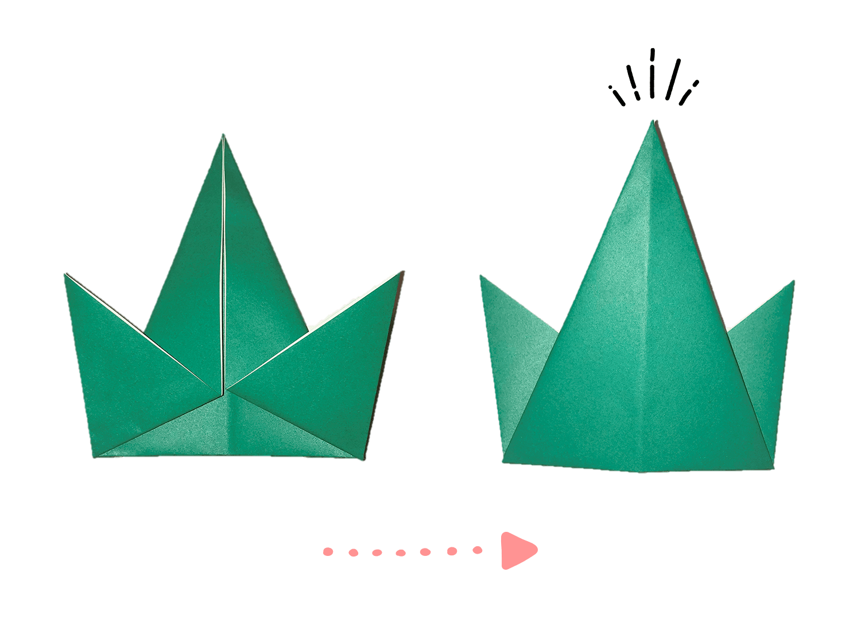 葉っぱの折り方03