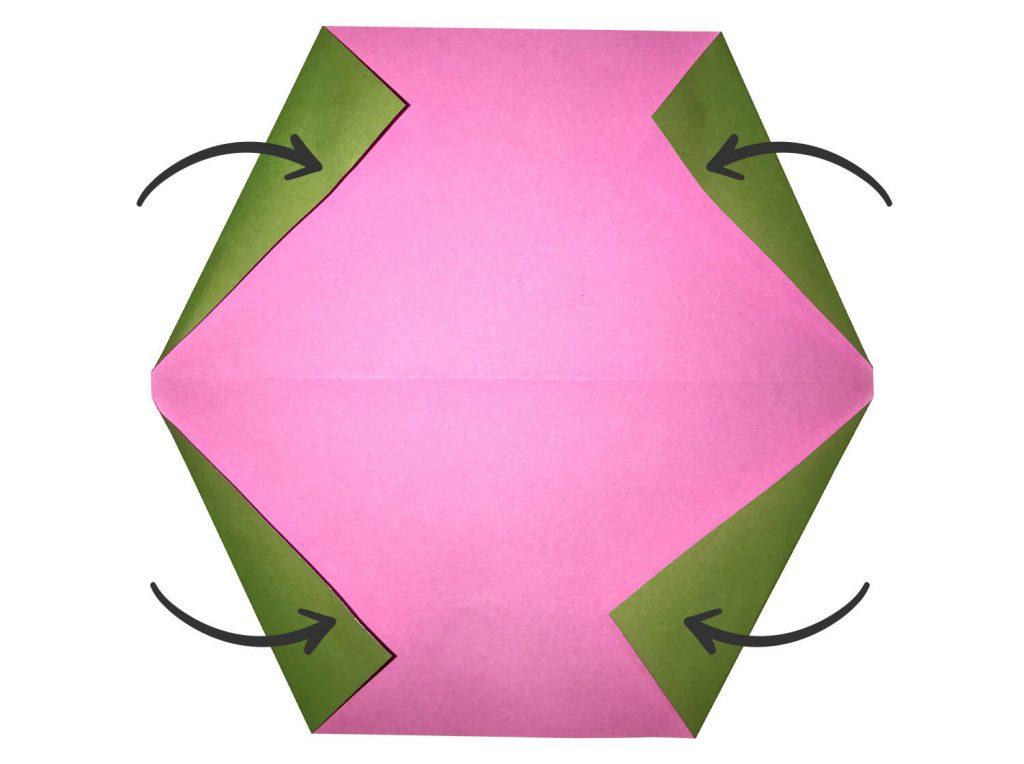 スイカの折り方01