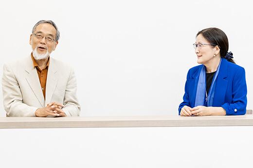 汐見先生と井上先生