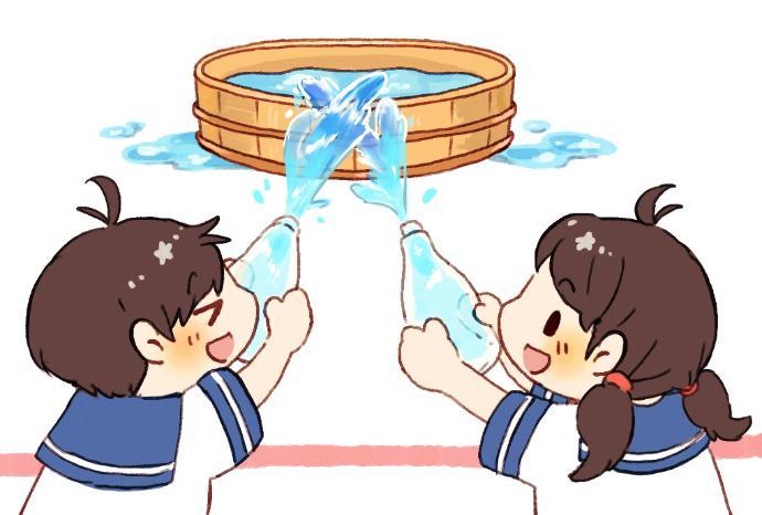 【夏の屋外遊び】水遊びゲームを楽しもう!