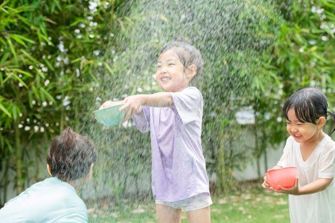 夏におすすめ! 5歳児と楽しむ水遊び&的あてゲーム